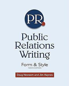Public Relations all my writers