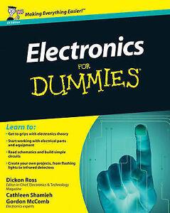Electronics for Dummies (UK ed)  BOOK NEW