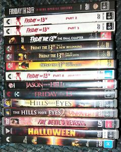 Horror DVDs: $70 Urangan Fraser Coast Preview