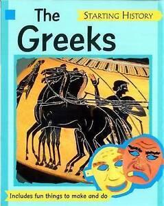 """VERY GOOD"" Hewitt, Sally, The Greeks (Starting History), Book"