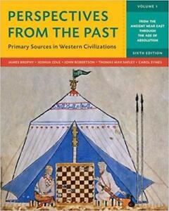 Perspectives from the Past Primary Sources in Western Civilizations