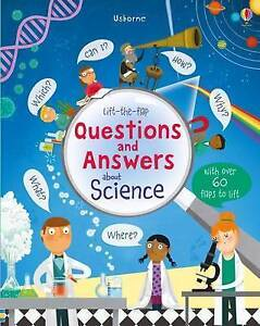 LIFT THE FLAP QUESTUIONS & ANSWERS ABOUT SCIENCE / KATIE DAYNES9781409598985