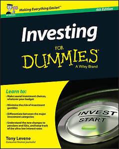 Investing for Dummies - UK, Levene, Tony