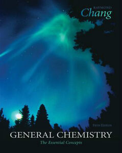 General Chemistry fifth edition by Raymond Chang hard cover