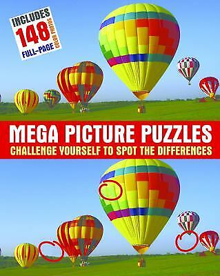 Mega Picture Puzzles (Mega Picture Puzzles : Challenge Yourself to Spot the)