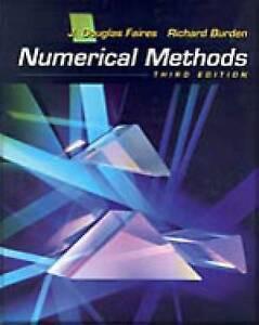 NEW Numerical Methods by J. Douglas Faires