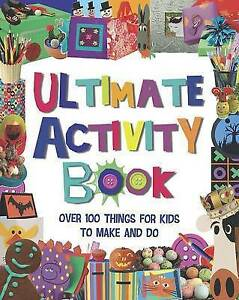 The Ultimate Craft Book for Kids (365 Things to Do), , Very Good Book