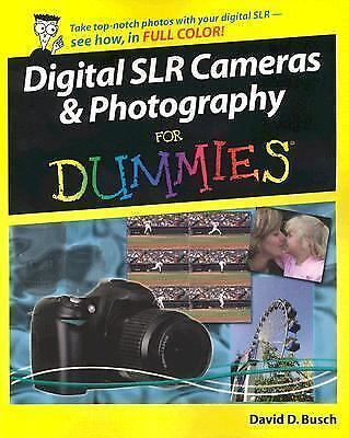 Digital SLR Cameras & Photography For Dummies 1