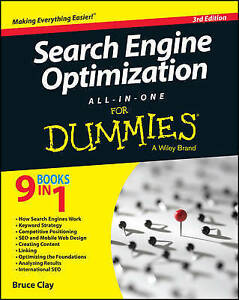 NEW Search Engine Optimization All-in-One For Dummies by Bruce Clay