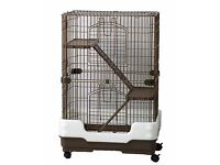 Small animal indoor cage