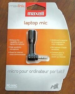 Maxell Laptop Mic