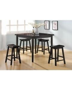 Square table and stools