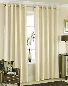 Amazing condition cream curtains for sale