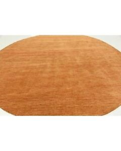 Large Round 100% Wool Rug - Made in India
