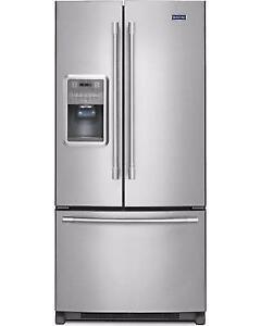 33-inch Maytag Refrigerator, French Doors, Showroom