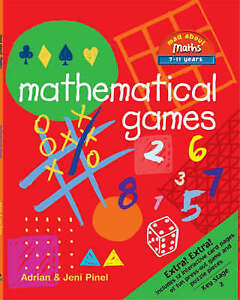 Mathematical Games (Mad about maths), Pinel, Jeni, Pinel, Adrian, Good Used  Boo