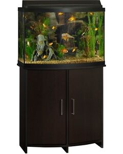 WOW !!!!  36 Gal Bow Tank with Stand And tons of EXTRA'S