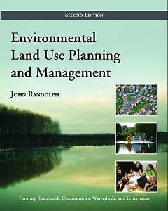 Environmental Land Use Planning and Management, John Randolph, Very Good conditi