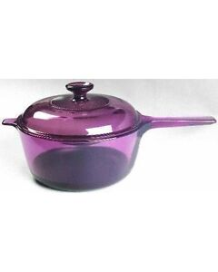 Large VISIONS saucepan with lid $15
