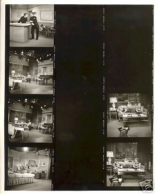 MAKE ROOM FOR DADDY DANNY THOMAS ON SET 1958 ABC PHOTO