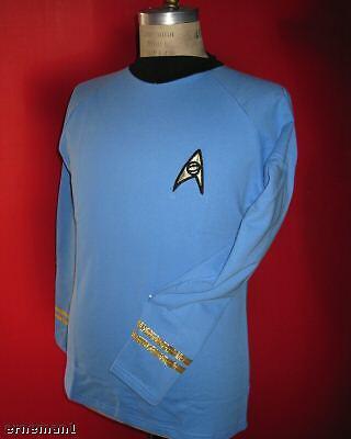 Uniform original STAR TREK Spock blau - BW NEU - (Original Star Trek Uniform)