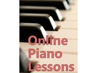 Online Piano, Keyboard and Organ Lessons