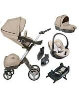 NEW Stokke ® Xplory ® v4 With Car Seat & Carry cot