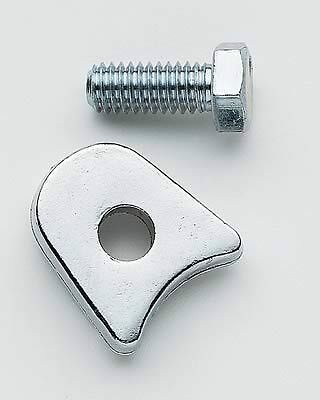 Chrome Distributor Hold Down Clamp - Chrome Distributor Hold Down Clamp Ford 260 289 302 351W 429 460 Ignition Spark