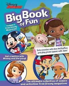 Disney Junior Big Book of Fun  BOOK NEW