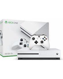 Xbox one s. Spairs/ repairs