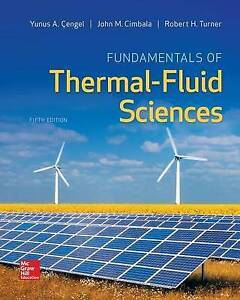 NEW Fundamentals of Thermal-Fluid Sciences by Yunus Cengel