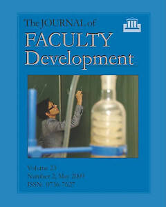 The Journal of Faculty Development: Volume 23, Number 2, May 2009