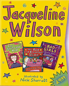 """Jacqueline Wilson Slipcase: """"Bad Girls"""", """"The Bed and Breakfast Star"""", """"The Suit"""