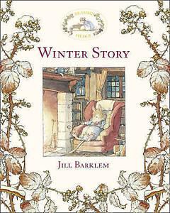 Winter-Story-Brambly-Hedge-by-Jill-Barklem-Hardback-1984