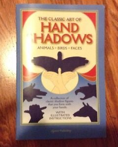 Classic book of hand shadows for sale