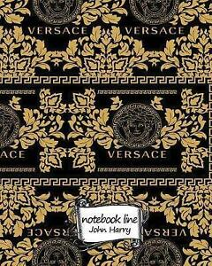 Notebook Notebook Line Versace Background Notebook Journal Diary 120 Lined - Norwich, United Kingdom - Notebook Notebook Line Versace Background Notebook Journal Diary 120 Lined - Norwich, United Kingdom