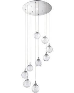 Artika 9- Globe Hanging Pendant Light Fixture CG9L-C1