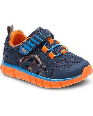 Surprize by Stride Rite Toddler Boys Dario Washable Sneakers Navy Orange $29.99