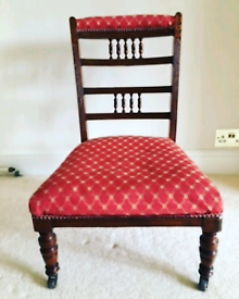 A Beautiful Antique Nursing Chair