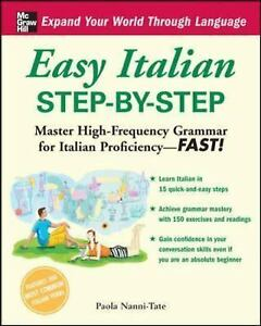 Easy-Italian-Step-by-Step-by-Paola-Nanni-Tate-2008-Paperback