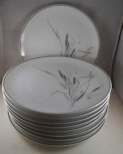 Ceralia by Easterling -  Bone China - Grey Wheat Pattern Kitchener / Waterloo Kitchener Area image 8