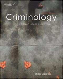 Criminology A Canadian Perspective 17th Edition