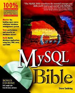 MySQL Bible with CDROM-ExLibrary