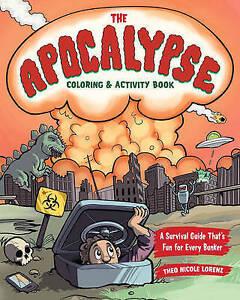 Theo Nicole Lorenz-The Apocalypse Coloring & Activity  BOOK NEW
