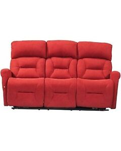 3 seat power reclining sofa couch - HOME THEATER
