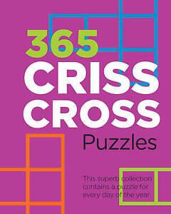 365 Criss-Cross Puzzles, Book, New Spiral Bound