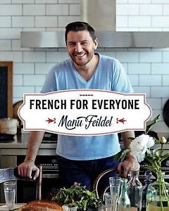 NEW-French-for-Everyone-By-Manu-Feildel-Hardcover-Free-Shipping