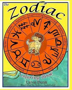 NEW The Zodiac Coloring Book by Caren  Alcala Dunn