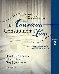 constitution and law in america essay