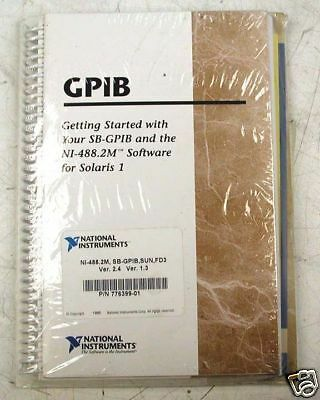 National Instruments Gpib Pn 776399-01 Manualsoftware